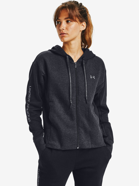Under Armour Rival Fleece Embroidered Full Zip Melegítőfelső