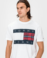 Tommy Jeans Plaid Centre Flag Póló