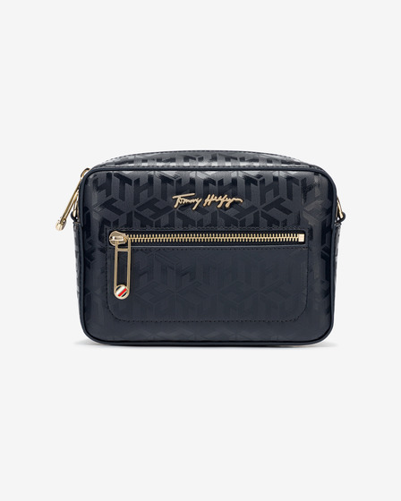 Tommy Hilfiger Iconic Camera Monogram Crossbody táska
