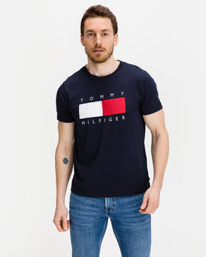 Tommy Hilfiger Textured Flag Póló