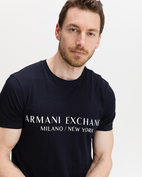 Armani Exchange Navy Póló