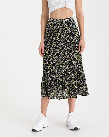 Tommy Jeans Tiered Floral Szoknya